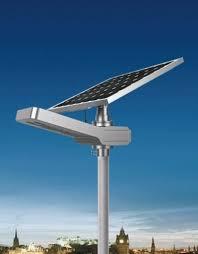 solar led outdoor street area light 4200 lumen pole mount adjule