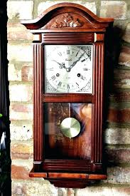 westminster chime wall clock with pendulum chime wall clock with pendulum wall clocks with pendulum and