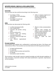Administrative Assistant Job Description Resume 3