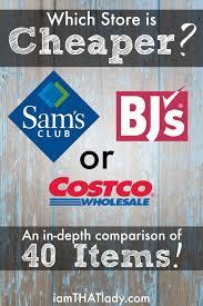 Chart House Gift Card Costco Costco Vs Sams Vs Bjs Price Comparison Of 40 Household