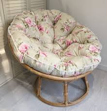 Light Pink Papasan Chair Our Soft Coloured Country Rose Floral Papasan Cushion In