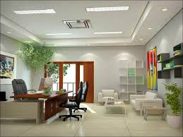 home office room. Fine Room Home Office Room Decorated With Plants For A Fresh Air Inside