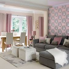 pink grey and white colour scheme