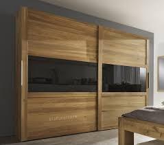 modern design wardrobe with glass door