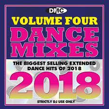 Dance Mixes 2018 4 Disc Set Of Remix Chart Music Four Dj Cds 77 Tracks