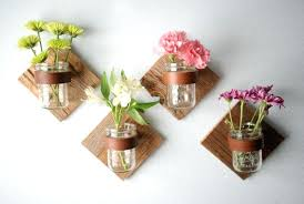 wall flower decor mason jars on wall flowers pink foam flower wall decor paper flower wall decor for