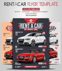 Car Dealership Flyer Templates Rent A Car Flyer Give Value To Your Car Rental Business
