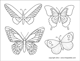 22,000+ vectors, stock photos & psd files. Butterflies Free Printable Templates Coloring Pages Firstpalette Com