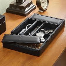 mens valet box. Interesting Valet Personalized Mens Leather Valet Box For