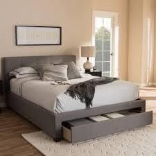 king platform storage bed. Contemporary Fabric Storage Platform Bed By Baxton Studio King A