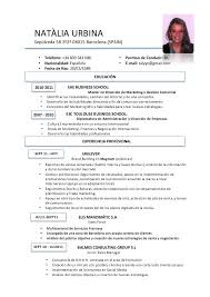 Spanish Resume Template Fascinating Spanish Resume Template Spanish Resume Template Ppyr Free Ashitennet