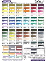 Downloadable Panpastel Color Chart Cc Painting Pinterest