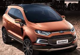 2020 Ford Ecosport Rumors Ford Ecosport Ford Subcompact