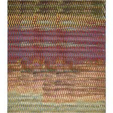 unique loom outdoor modern multi 10 x 12 rug