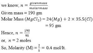 Molarity Formula Molarity Definition And Formula