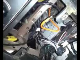 how to install a radio in a 1996 2000 mustang youtube 2006 ford mustang radio wiring diagram at Ford Mustang Radio Wiring Diagram