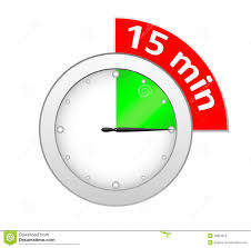 Fifteen Minutes Timer Timer 15 Minutes Stock Vector Illustration Of Number 18884254