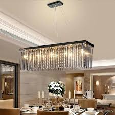 dining room table lamps crystal lamp rectangular dining room pendant lights hotel dining hall dining table