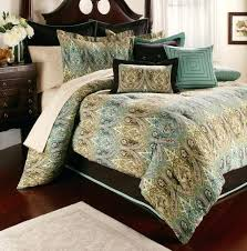 turquoise brown king comforter sets blue and bedding categories within duvet co throughout queen prepare