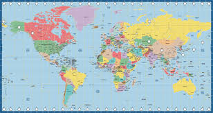 Time Map World Map Us Time Zone Miller Map Creative Force