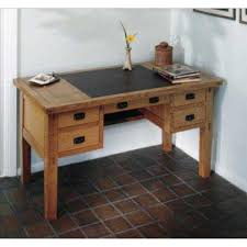 stickley leather top desk able plan