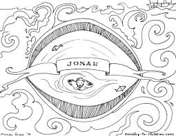 Small Picture Jonah And The Whale Coloring Page Ppinewsco