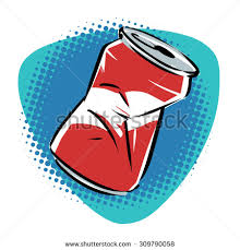 crushed can clipart. pin litter clipart crushed beer can #8 u