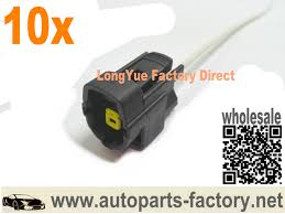 compare prices on ford wire connectors online shopping buy low longyue 10pcs 1 way engine oil level sensor connector wiring harness 8 accessories for ford