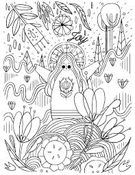 Wreath Coloring Pages Printable Advent Coloring Page Advent Coloring
