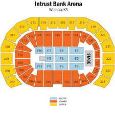 Intrust Bank Arena Wichita Tickets Schedule Seating