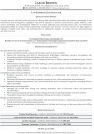 Law Enforcement Resume Attorney Resume Samples Attorney Resume