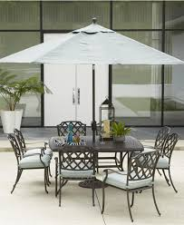 Aluminum Outdoor Dining Table Nottingham Outdoor Dining Collection Furniture Macys