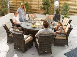 fire pit 1 8m round table
