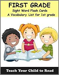 1st Grade Flash Cards Amazon Com First Grade Sight Word Flash Cards A Vocabulary List Of