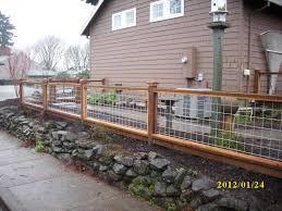 Dog Fence Designs Lovely Hog Wire Fence Design Construction