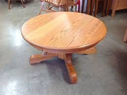 round pedestal coffee table norman s handcrafted