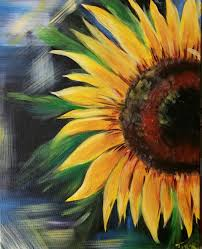 Wine And Design Leonardtown Sunflower 6 30pm Wine Design Art Paint Party