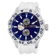 nautica n15567g bfd 100 multifunction blue dial men s watch nautica n15567g bfd 100 multifunction blue dial men s watch