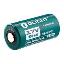 <b>Аккумулятор</b> Li-ion <b>Olight</b> ORB-163P06 <b>16340 3</b>,<b>7</b> В. 650 mAh ...