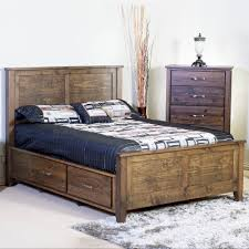 bedroom furniture storage. Beautiful Bedroom Large Picture Of Mako Wood Furniture Scarlet 4100ST Queen Panel Bed With  Storage  Throughout Bedroom K