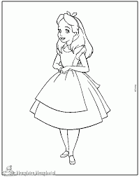 товары для дома Alice In Wonderland Kleurplaat