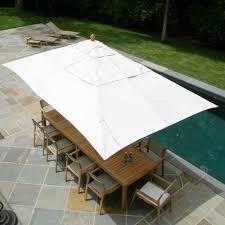 rectangle patio umbrella 11 foot