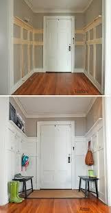 DIY Functional Wood Entry Wall