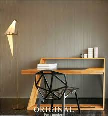 <b>Modern Iron LED</b> Swing Bird <b>Floor</b> Lamps Bedroom Living Room ...