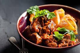 Lamb Stew Recipe Moroccan Lamb Stew With Roast Sumac Potatoes