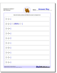 kindergarten worksheets for fraction addition subtracting fractions with common denominator