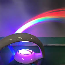Rainbow Projector Light Ywxlight Colorful Projector Reflection Magical Rainbow Light Led Night Lamp