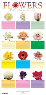 Contemporary Flower Chart