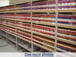 end tab file folder storage equipment