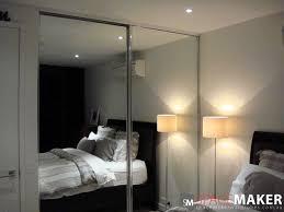 winning frameless mirrored closet doors stair railings modern in modern design mirrored sliding wardrobe doors bedroom